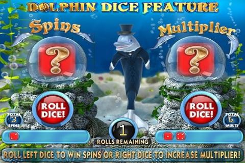 Dolphins Dice Slots- screenshot