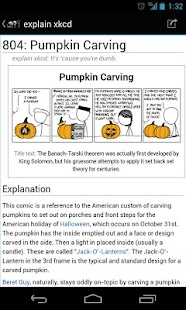 xkcd Browser - screenshot thumbnail