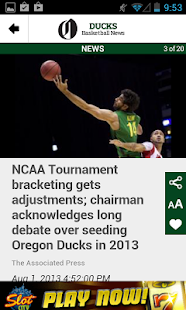 OregonLive: Ducks Hoops News - screenshot thumbnail