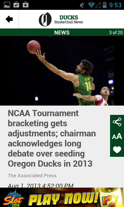 OregonLive: Ducks Hoops News - screenshot