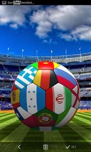 3D足球動態壁紙