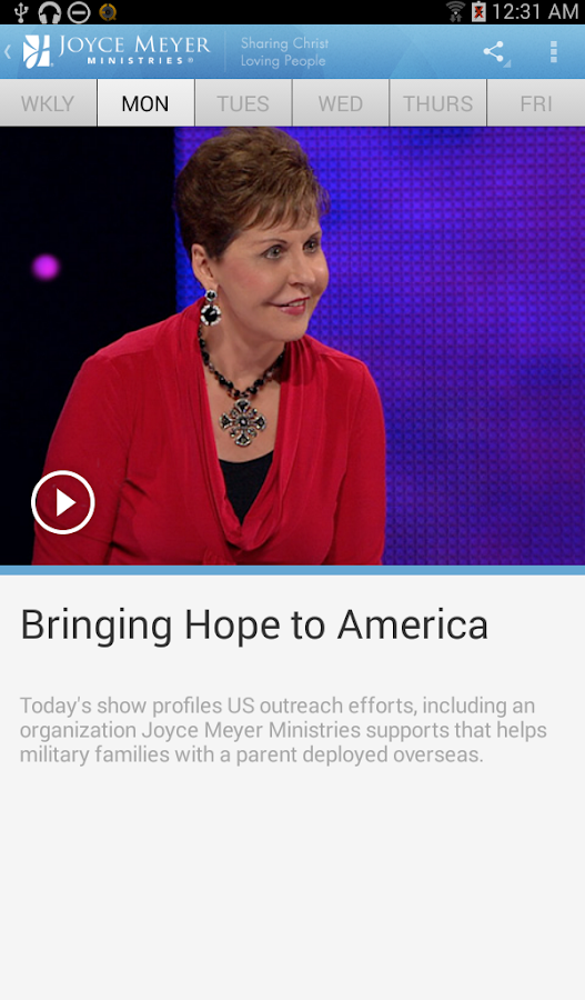 Joyce Meyer Ministries- screenshot