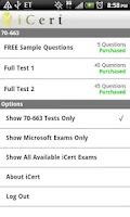 Screenshot of iCert 220-702 Practice Exam A+