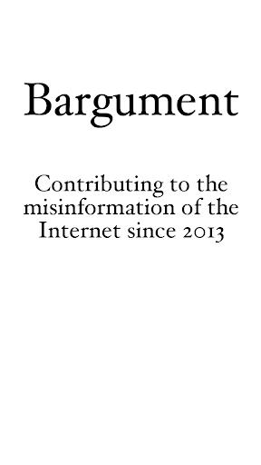 Bargument