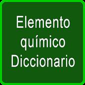 diccionario Quimica