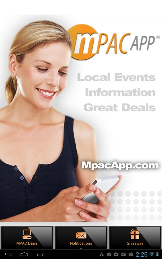 MPAC App - screenshot