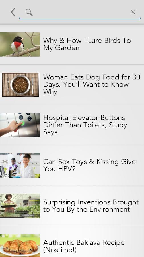 FeedsApp - screenshot