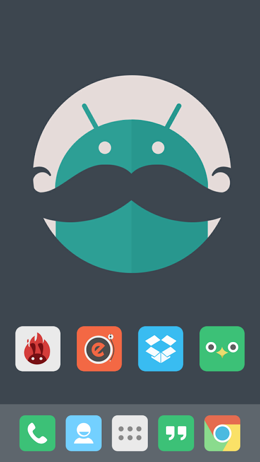 FLATASTICO APEX/NOVA/GO THEME - screenshot