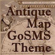 Go SMS Antique Map Theme
