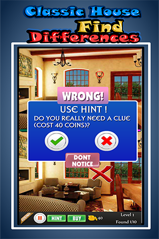 Classic House Find Differences 1.4.0 screenshots 2