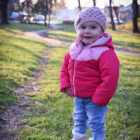 by Lazar Manojlovic - Babies & Children Child Portraits ( park, baby in park )