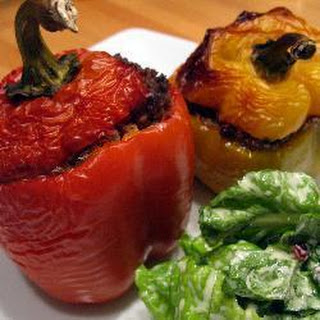 Easy Peasy Stuffed Peppers.