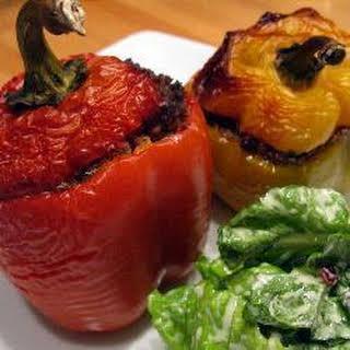 Easy Peasy Stuffed Peppers.
