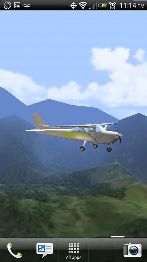 Aviation 3D - Light Plane - screenshot