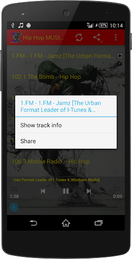 Hip Hop MUSIC Radio WorldWide  screenshots 11