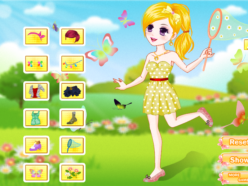 Catching Butterflies- screenshot