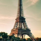 Wallpaper Eiffel Tower 3D