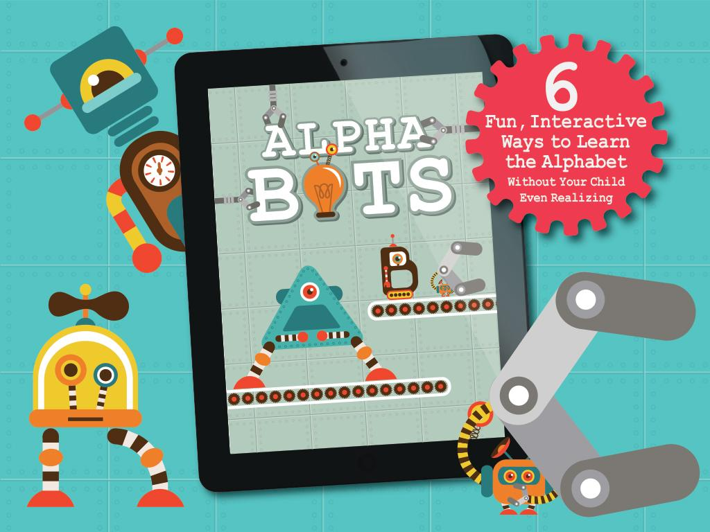 Alphabots - Alphabet ABC Games- screenshot