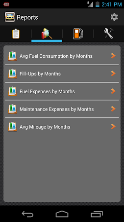 My Fuel Tracker 1.6 screenshot 2015360