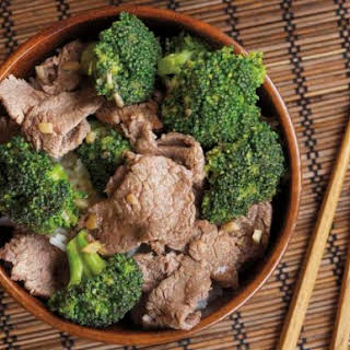 Beef with Broccoli from 'The Chinese Takeout Cookbook'.