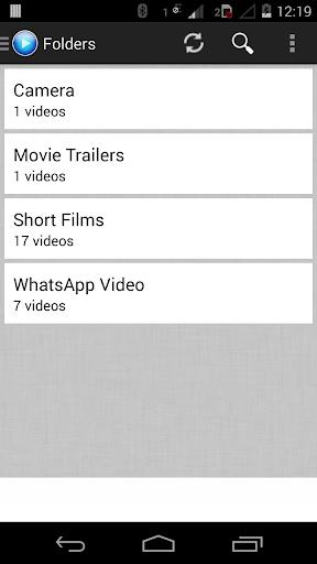 AX Player -Nougat Video Player 2.0 screenshots 1