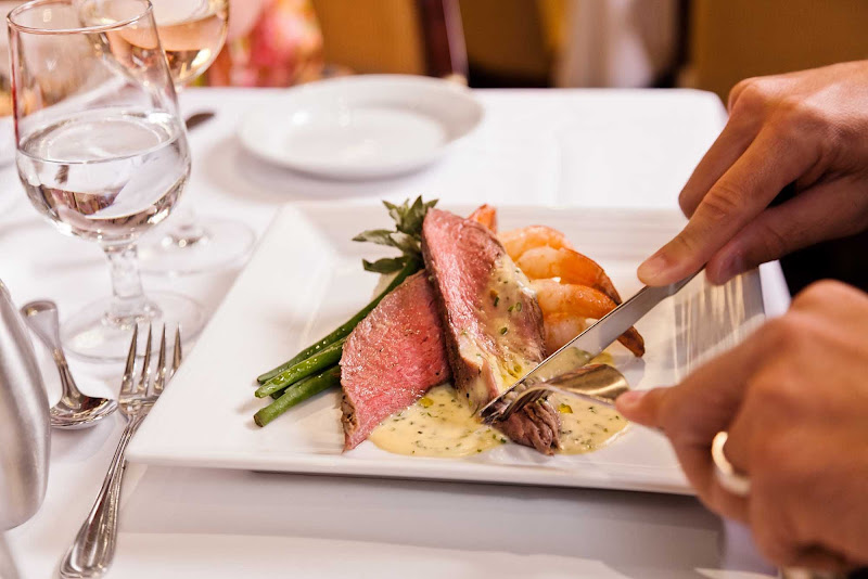 Royal Caribbean chefs will  prepare your meals to your specifications.