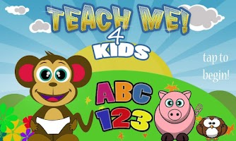 Screenshot of Teach Me 4 Kids ABC 123