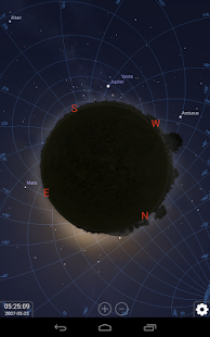 Stellarium Mobile Sky Map - screenshot thumbnail