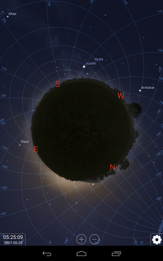 Stellarium Mobile Sky Map- screenshot
