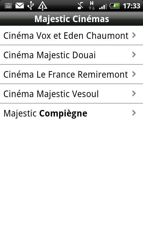 Majestic Cinémas- screenshot