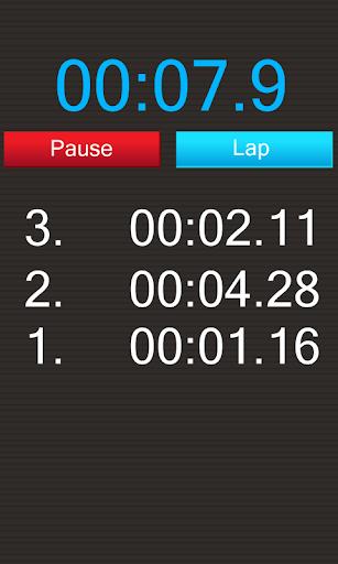 秒表计数器 - 踏圈