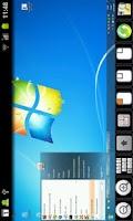 Screenshot of akRDCFree VNC viewer