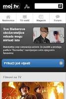 Screenshot of Moj TV