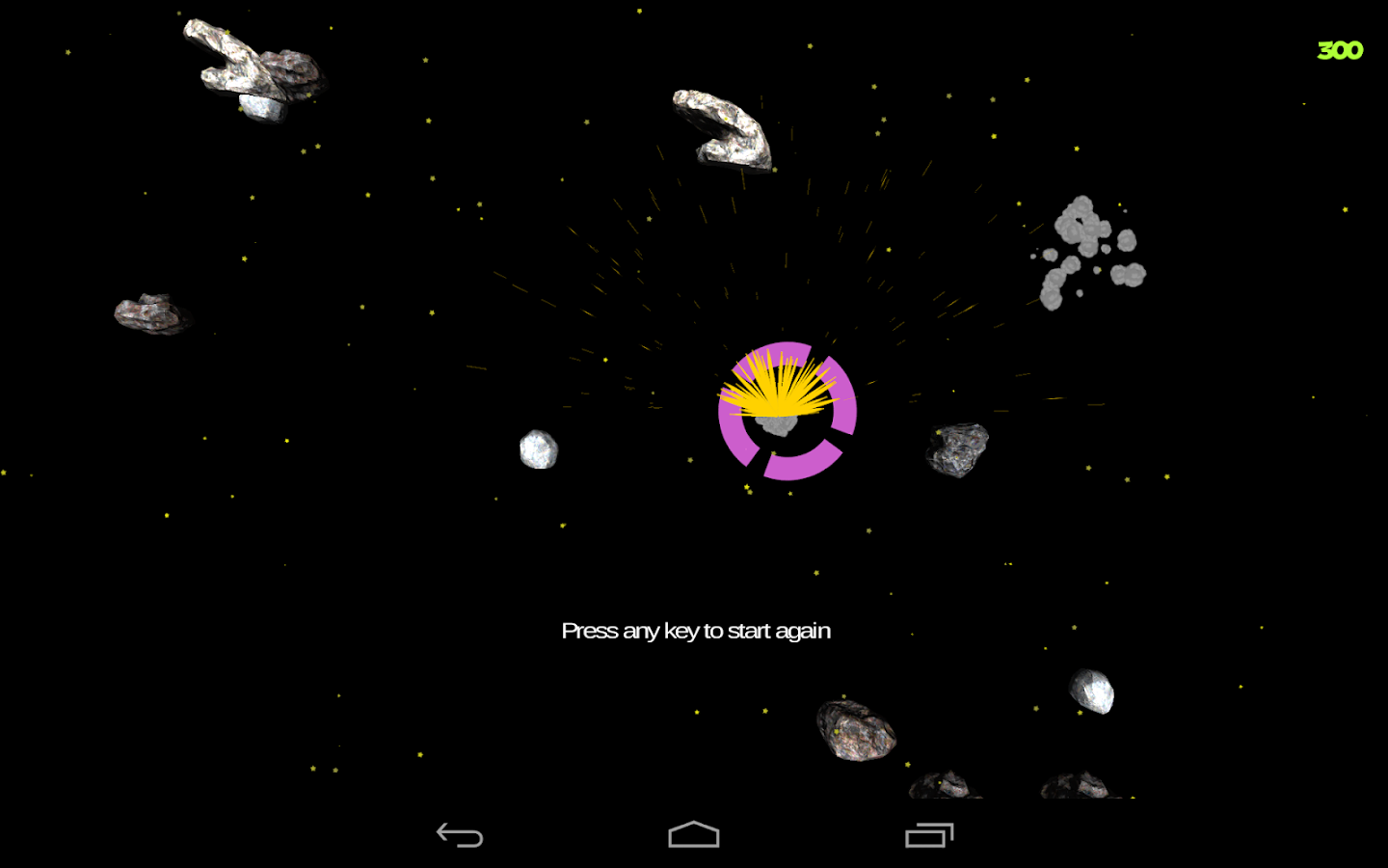 Spacey Shooter Free - screenshot