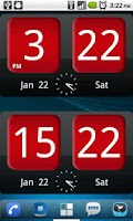 Screenshot of FlipClock AhMan ALLRED