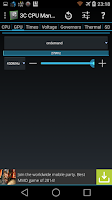 Screenshot of 3C CPU Manager