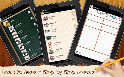 Learn to Draw Basketball Logo