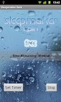 Screenshot of Sleepmaker Rain