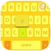 GO Keyboard 7 Yellow Theme