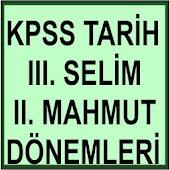 KPSS III. SELİM ve II. MAHMUT