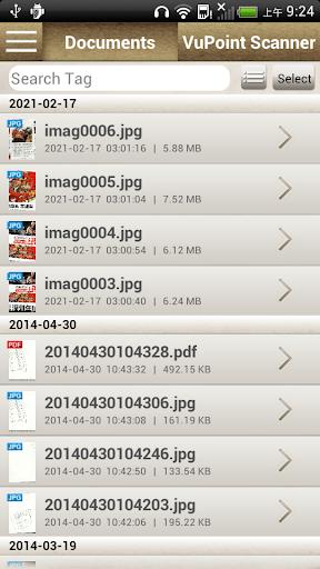 VuPoint Scanner screenshots 1