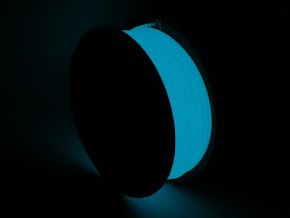 Blue Glow in the Dark ABS Filament - 3.00mm