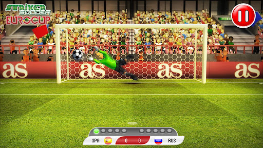 Striker Soccer Euro 2012 Pro  screenshots 6