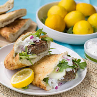 Mediterranean Lamb Burgers.