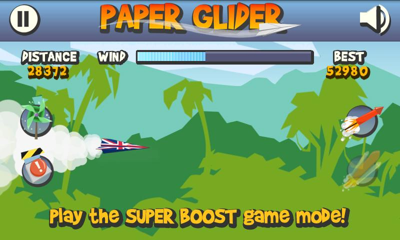 Paper Glider- screenshot