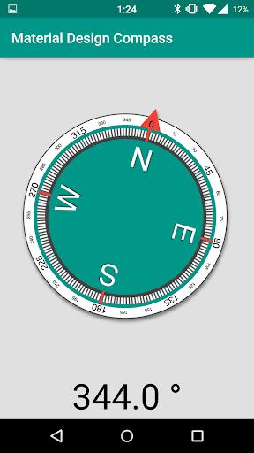 【免費工具App】Compass Material-APP點子