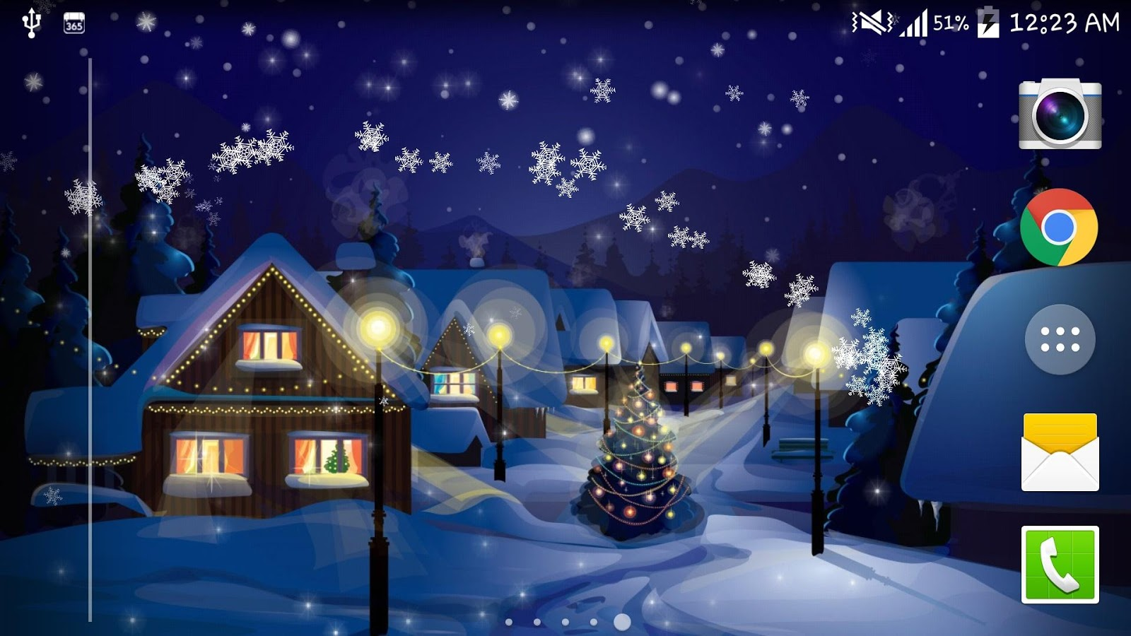 snow night city live wallpaper android apps auf google play. Black Bedroom Furniture Sets. Home Design Ideas