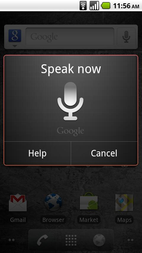 Voice Search - screenshot