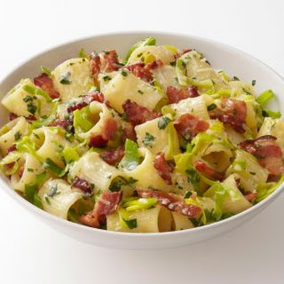 Pasta with Bacon and Leeks Recipe