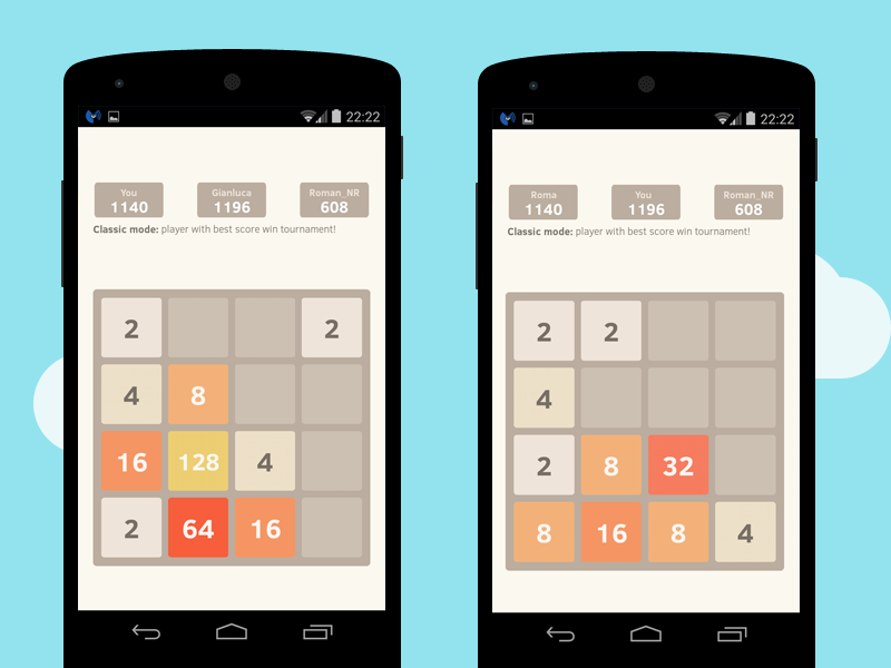 2048 Number puzzle game screenshot #2